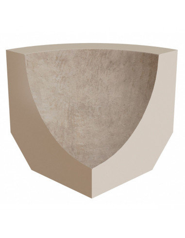 rinconera interior stela white rosa gres