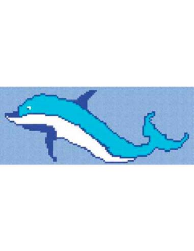 mosaico gresite delfin grande vidrepur 110