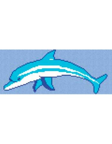 mosaico gresite delfin marino vidrepur 110