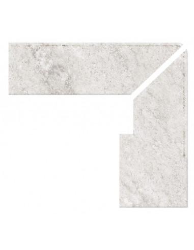 ZANQUIN RECTO EVO DERECHO SERIE WHITE STONE PIEDRA GRESMANC