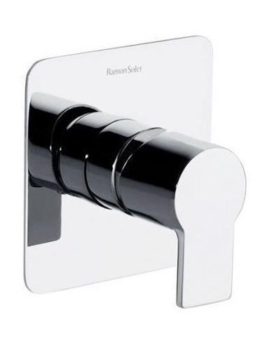 Conjunto grifo monomando baño ducha empotrado 1 vía sistema S2 931801S ramon soler