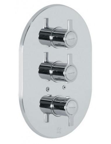 Grifo termostático empotrado de 3 vías para ducha 9327S rs-q ramon soler