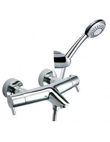 Conjunto grifo termostático baño ducha 3339AS drako ramon soler