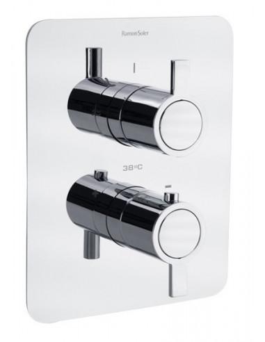 Grifo termostático empotrado 1 vía ducha 332411S drako ramon soler