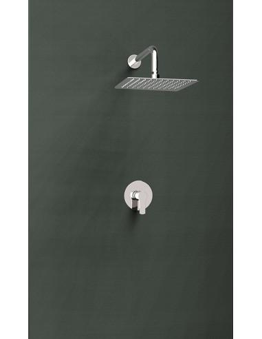 Grifo ducha mural monomando empotrado 1vía  K1818014 titanium ramon soler