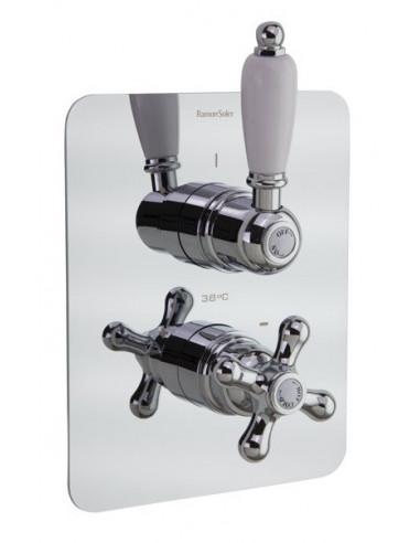 Grifo termostático empotrado baño ducha 308712S gaudi ramon soler