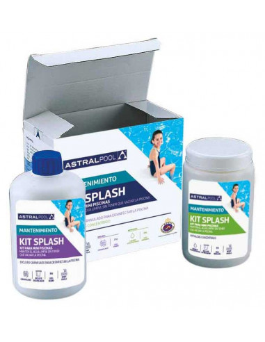 kit splash cloro antialgas piscina niños infantil ASTRALPOOL